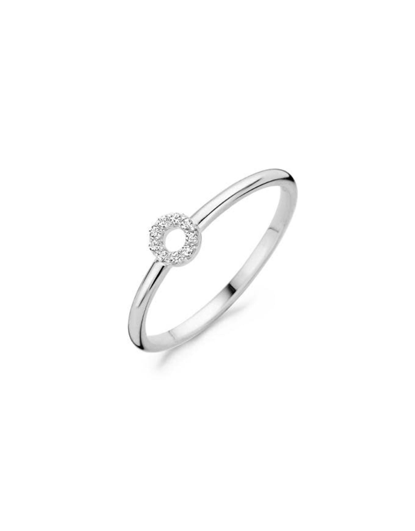 Blush Ring Wit Goud 14kt Blush 1217WZI/54