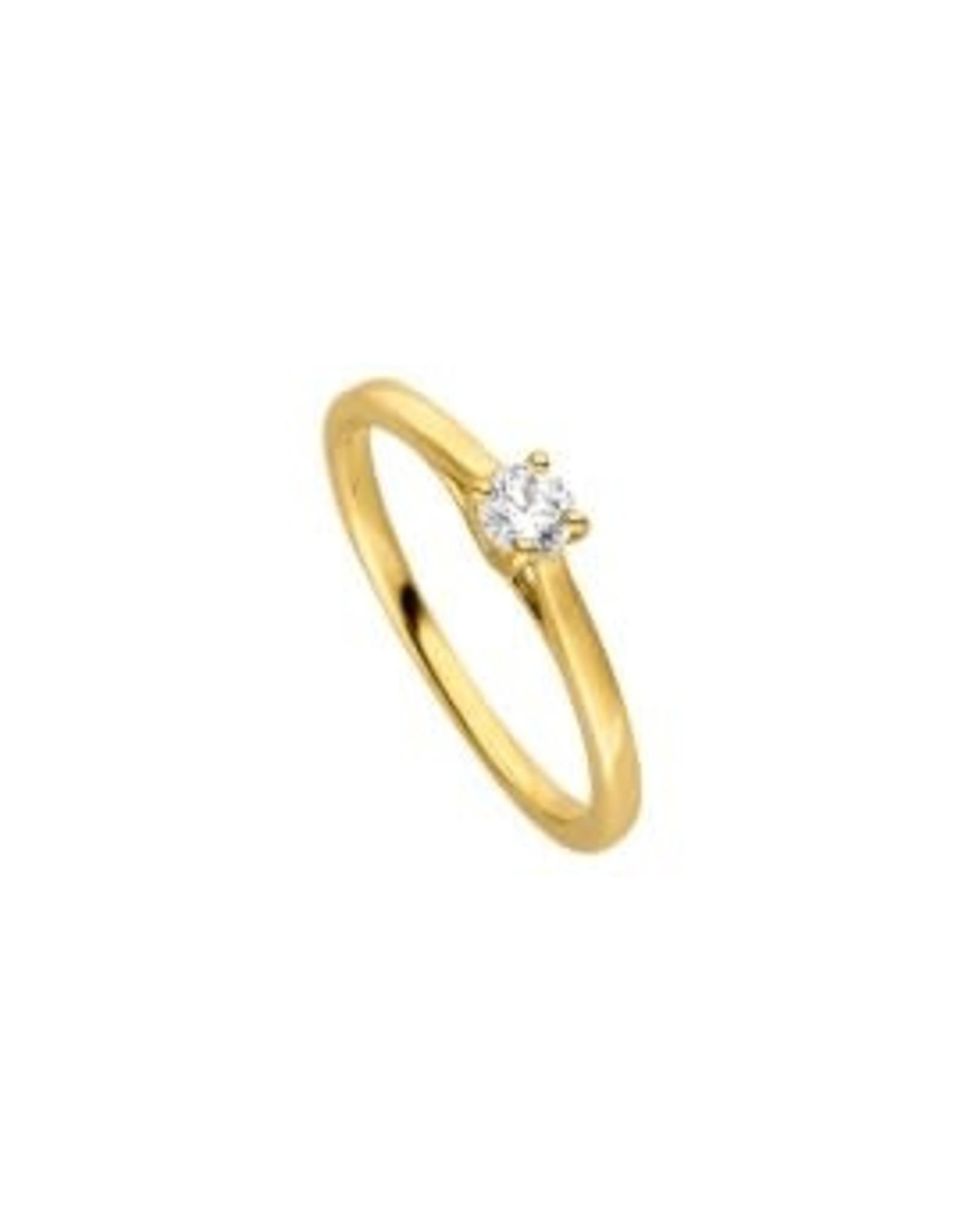 Viventy Ring Viventy VI/783421-54 Zilver Verguld