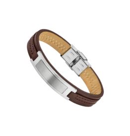 Lotus Style Armband Lotus Leder Bruin LS1808/2/1