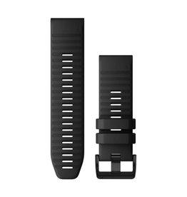 Garmin Quickfit 26 Band Silicone Garmin Fenix 6X Zwart 010-12864-00
