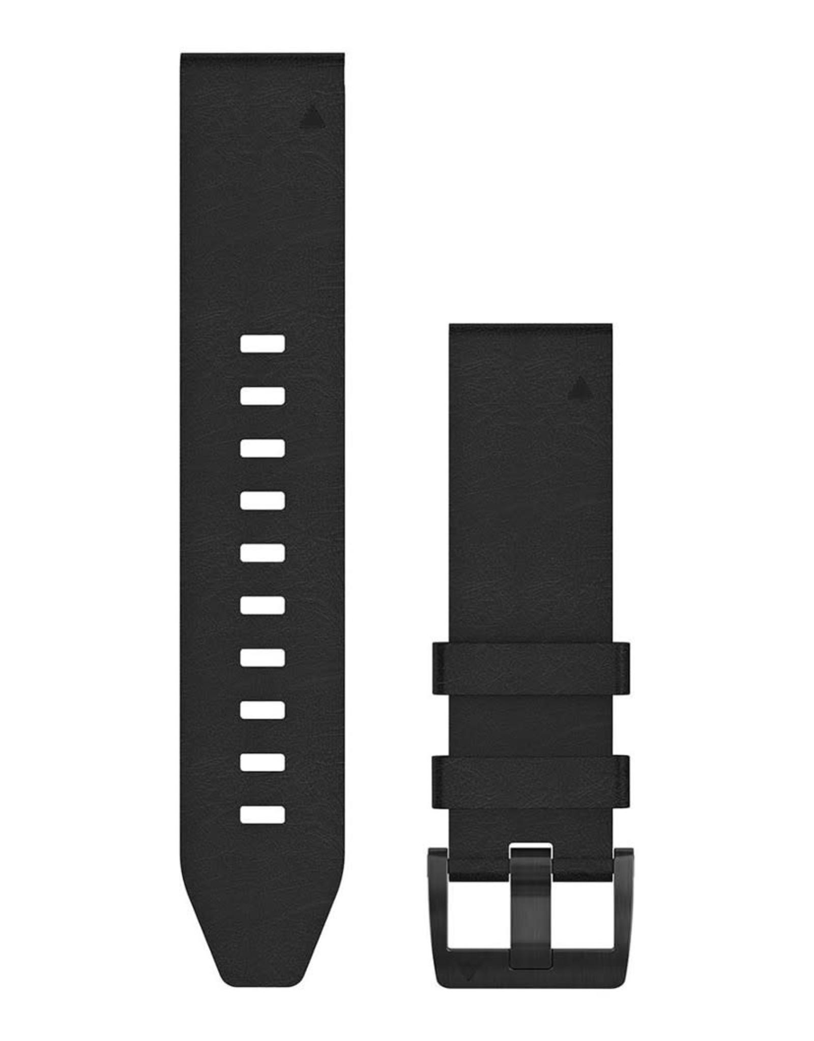 Garmin Garmin 010-12740-01 Quick fit Band 22 Zwart Leder