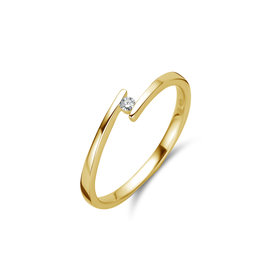 Ring Solitaire Geel Goud 18kt 91BX25/A