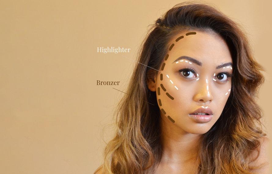 How to: je gezicht contouren in 5 stappen