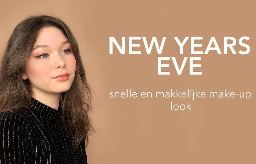 New Years Eve: een snelle en makkelijke make-up look