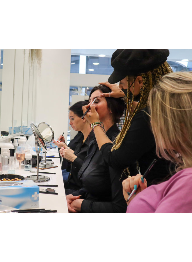 Masterclass Glamour Look (1 pers)