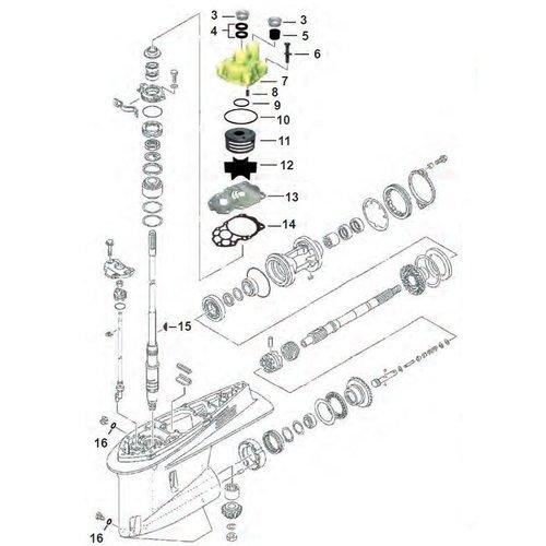 F225 / F250 / F300 V6 4-Takt