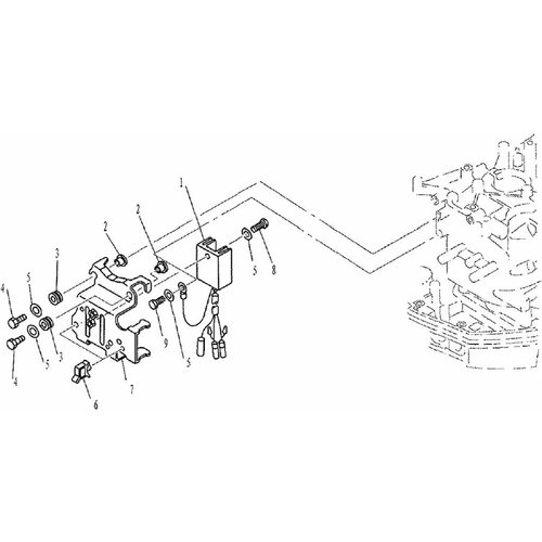 Yamaha / Parsun Außenborder F9.9, F13.5 & F15 Gleichrichterteile