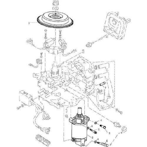 Yamaha / Parsun Außenborder F9.9, F13.5 & F15 Elektrik 1 Teile