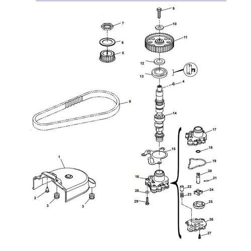 Yamaha / Parsun Außenborder F15A (F20A) BM (FW) Nockenwellenteile