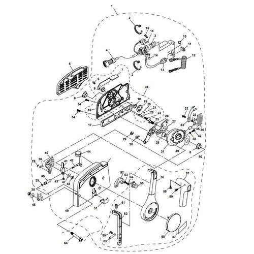 Yamaha / Parsun Außenborder F15A (F20A) BM (FW) Steuerkasten Teile