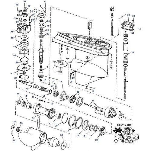 V6 '76- '78 mit hydraulischer Schaltung