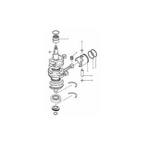 Tohatsu / Mercury 40 / 50 PS Kurbelwellenteile