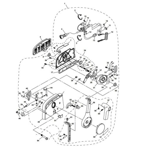 Parsun Außenborder F20A (F15A) BM (FW) Control Box Assy Teile