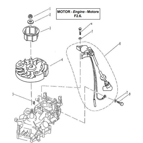 Ignitor Assembly Teile