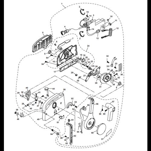 Parsun Außenborder F50 & F60 Control Box Assy Teile