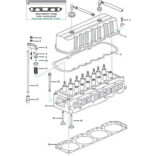 Zylinderkopf Ersatzteile