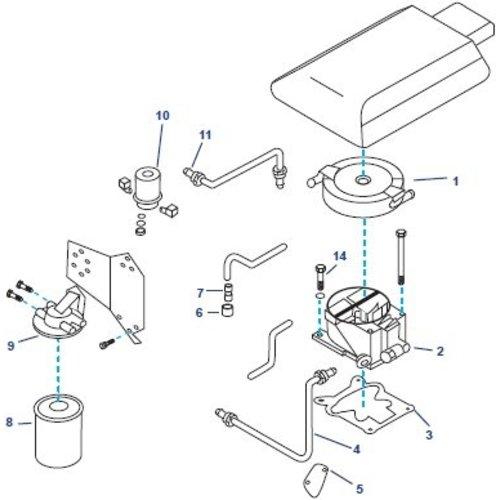 Kraftstoffsystem Ersatzteile