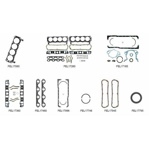 Mercruiser 8 Zylinder Motordichtungen 5.8L 233 Ser. Nr. 3258728 - 4175499 (233 PS); 255 Ser. 3258728 - 4175499 (255 PS) BASE FORD Block