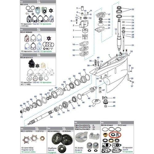 Getriebegehäuse MC1/R