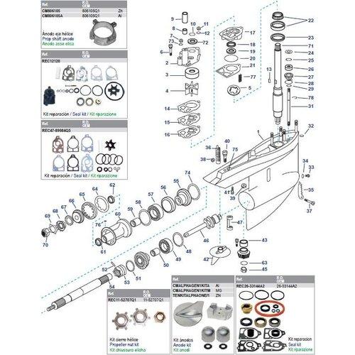 Getriebegehäuse MR / Alpha One