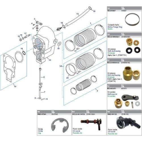 Mercruiser Bell Housing MC - MR1 - Alpha One - Alpha One Gen II