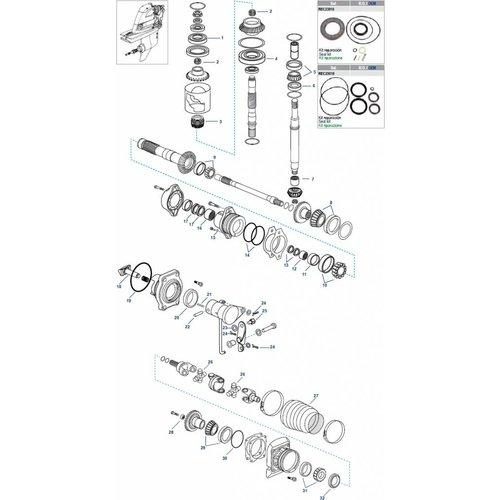DPH / DPR Getriebekomponenten