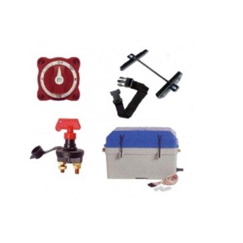 Batteriekasten / Schalter und Zubehör
