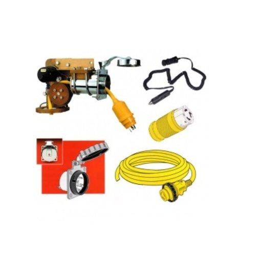 Teile und Zubehör für 12-Volt-Systeme / Landstromsysteme