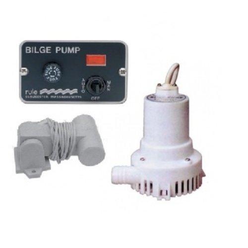 Bilgepumpen und Schalter