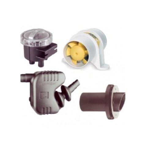 Belüftung / Kühlwasser / Filter / Abgasschalldämpfer