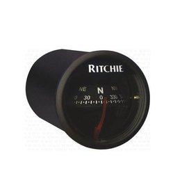 Ritchie Kompass Für Boote Bis Zu 5 Meter Schwarz / Weiß