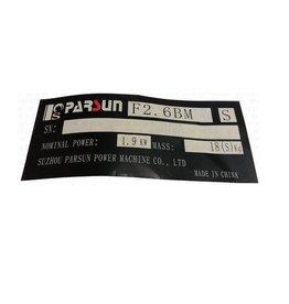 RecMar Parsun Mark 4F2.6 (PAF2.6-07000004)