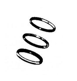 RecMar General Motors Kolbenringsatz 5.0L 0.20 (1976-1997) (REC11020)