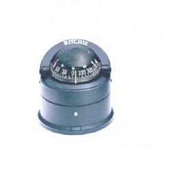 Ritchie Kompass Für Boote Bis Zu 7 Meter, Schwarz (RITD-55)