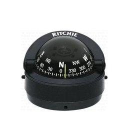 Ritchie Kompass Für Boote Bis Zu 7 Meter, Schwarz / Weiß