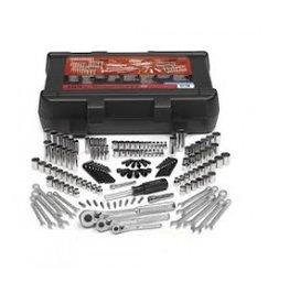 Professioneller Werkzeugkoffer (mit 154 Teilen) metrisch und Zoll (CRA935154)