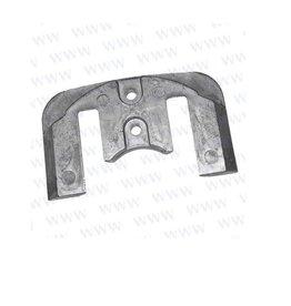Tecnoseal Yanmar STERNDRIVE CAVITATION PLATE Anode ZT350 ZT370 (196350-02350)