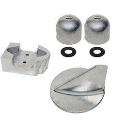 Tecnoseal Mercruiser Aluminium, Magnesium und Zink-Anode Kits für Z-Antriebe Alpha One (1984-90)