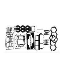 RecMar Johnson Evinrude Dichtungssatz Motor 175/235 PS V6 Crossflow 80-91 (434381, 394885)