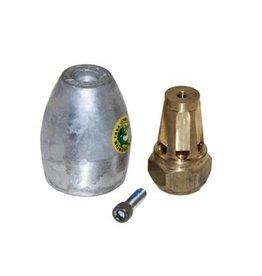Martyr Mercruiser Anode Kit Bravo III (2004+) Aluminium (865182A01)