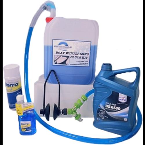 Flush Kit für die Wintervorbereitung