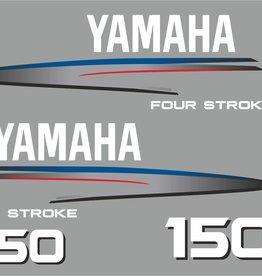 Yamaha 150 PS Jahresbereich 2002-2006 Aufklebersatz