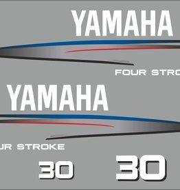 Yamaha 30 PS Jahresbereich 2002-2006 Aufklebersatz