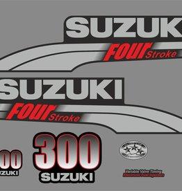 Suzuki 300 PS Jahresbereich 2003-2009 Aufklebersatz