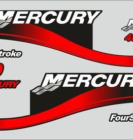 Mercury 40 PS Jahresbereich 2001 Aufklebersatz
