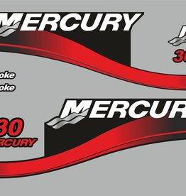Mercury 30 PS Jahresbereich 2003 Aufklebersatz