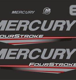 Mercury 6 PS Jahresbereich 2015-2019 Aufklebersatz