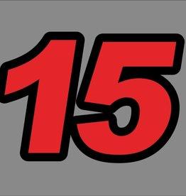 Mercury 15 PS Jahresbereich 1998-2004 Aufkleber