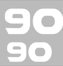 Yamaha 90 PS Aufkleber