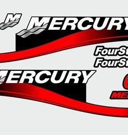 Mercury 6 PS Aufklebersatz